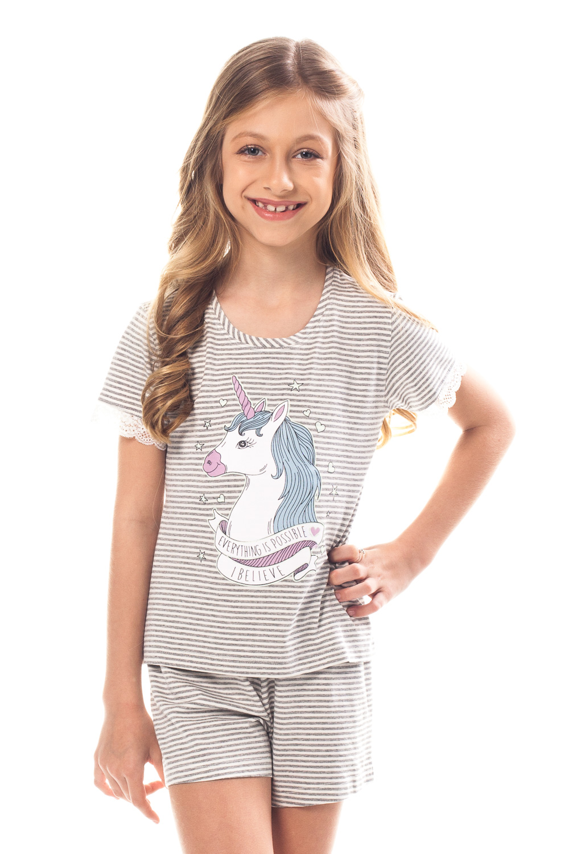 b4a51ecb1365cd Short Doll Infantil Angel | Divina Noite Sleepwear